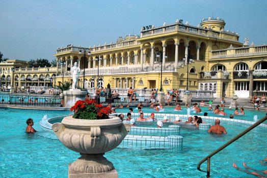 Szechenyi Thermal Baths, Budapest © budapestinfo.hu