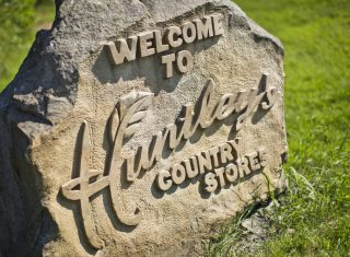 Huntleys store stone, Lancashire UK