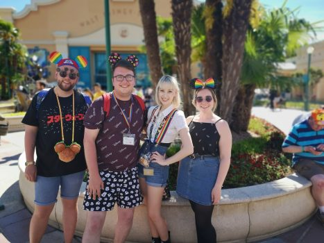 Magical Pride team with guest