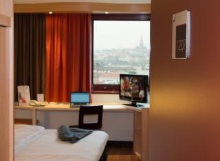 Ibis Wien Mariahilf single room