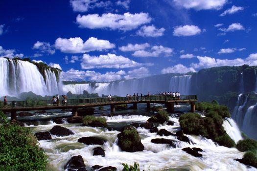 Igazu falls, Brazi