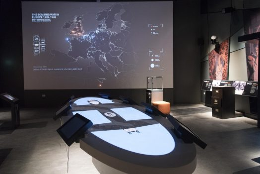 International Bomber Command Centre (IBCC), Lincolnshire - Inside the exhibition