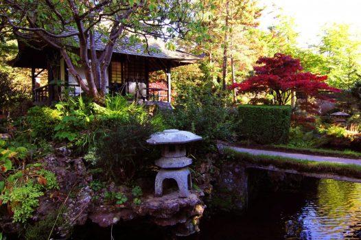 Irish National Stud & Gardens, Co Kildare, Ireland - Japanese Gardens Teahouse