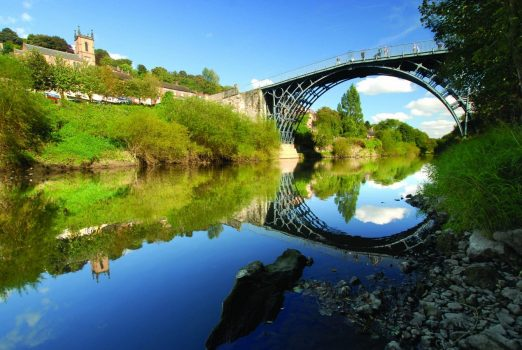 Ironbridge, Shropshire ©Ironbridge Gorge Museums