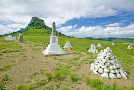 South Africa tour Isandlwana in Zululand, South Africa