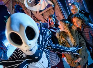 Jack and Sally, Halloween © Disney