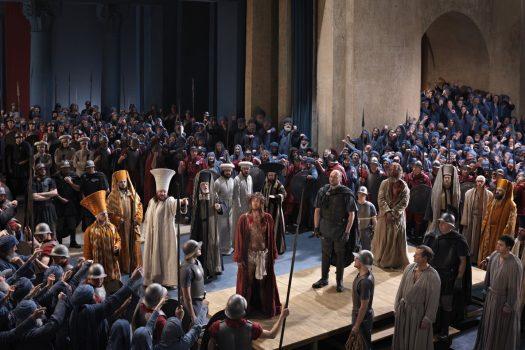 Jesus_vor_Pilatus,Oberammergau passion play in Germany ©Copyright by Gemeinde Oberammergau