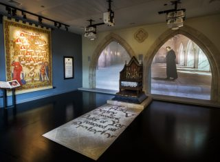 King Richard III Visitor Centre, Leicestershire - Throne Room