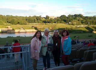 Kynren, County Durham, North East - In front of the 'stage'