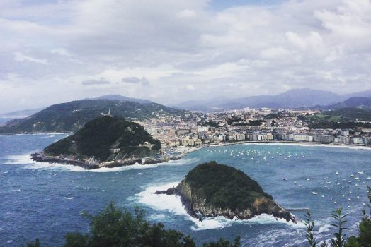 La Concha, Donostia-San Sebastian from Monte Igueldo, Basque Country - NCN FVI