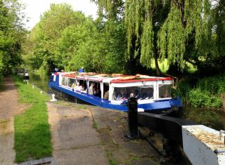 River cruise on the Lea