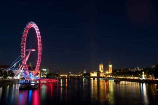London Eye & Thames Cruise at night - Group tour to London, Evening Cruise