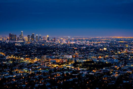 USA United States of America, California, LA Los Angeles, group tour, group travel, (NCN)