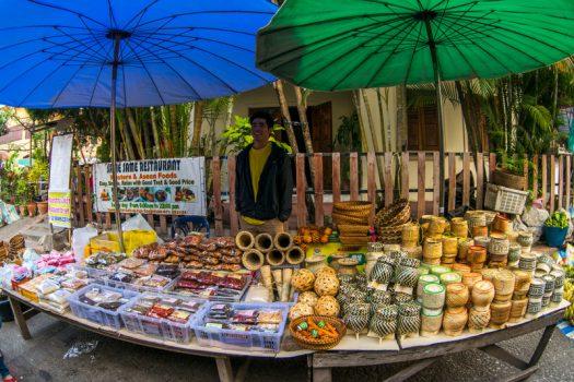 Southeast Asia, Laos, Luang Prabang, local market © Easia Travel