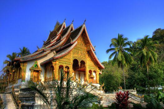 Southeast Asia, Laos, Luang Prabang, Royal Palace © Easia Travel