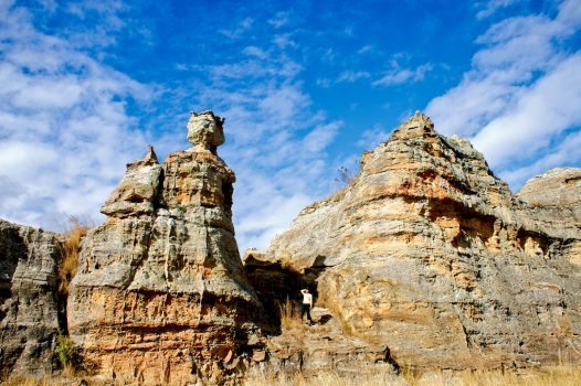 Africa, Madagascar, Isalo Nation Park, Queen of Isalo, group travel,. group tour