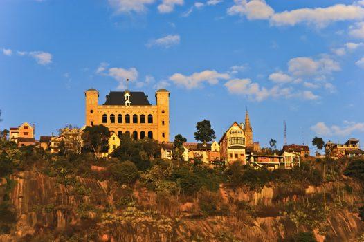 Madagascar, Antananarivo, Rova royal palace complex, group travel