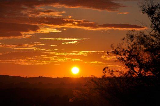 Vibrant Sunset in Madagascar, NCN