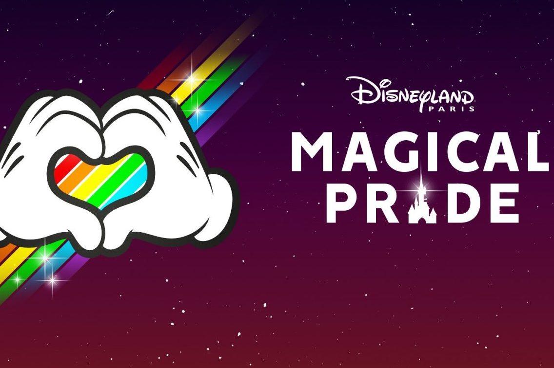 Magical Pride Logo Disneyland® Paris