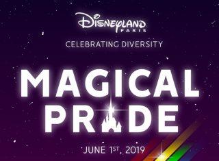 Magical Pride Poster Disneyland® Paris ©Disney