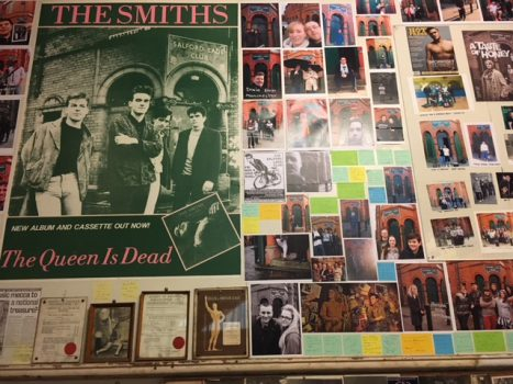 Manchester Music Story Tour - Picture Board