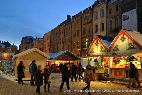Marche de Noel (c) Philippe Gisselbrecht-Office de Tourisme de Metz