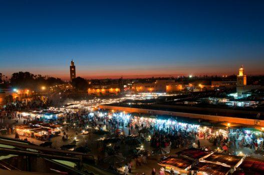 Jemaa Al Fnaa, Marrakech, Morocco www-visitmorocco-com-moroccan-national-tourist-office