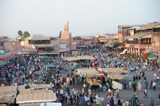 Jemaa Al Fnaa, Marrakech www-visitmorocco-com-moroccan-national-tourist-office