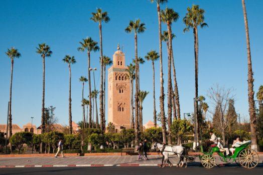 MInaret de la Kouboubia, Marrakech www-visitmorocco-com-moroccan-national-tourist-office