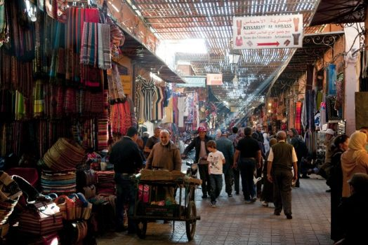 Souk, Marrakech www-visitmorocco-com-moroccan-national-tourist-office
