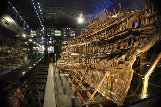 Mary Rose Museum, Portsmouth Historic Dockyard - The Mary Rose - Stern view © Mary Rose Trust
