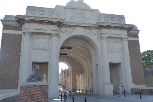 Menin Gate, Ypres, WW1 Battlefields Armistice