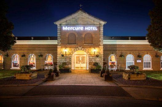 Mercure Haydock Hotel, Haydock - Exterior at night (NCN)