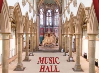 Music Hall and Gorton Monastery