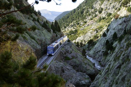 Spain, Pyrenees, Nuria valley, group tour, group travel
