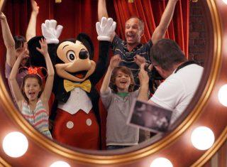 Mickey With Family Summer at Disneyland® Paris