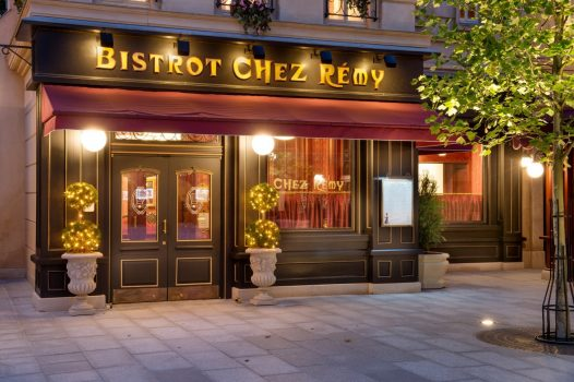 Bistrot Chez Rémy ©Disney