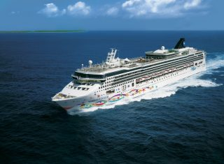NCL - Norwegian Star - Aerial © Norwegian Cruise Line