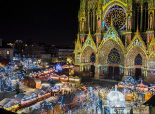 France, Reims Christmas Markets, Champagne, group travel, group tour, holidays © Ville de Reims - Cyril Beudot