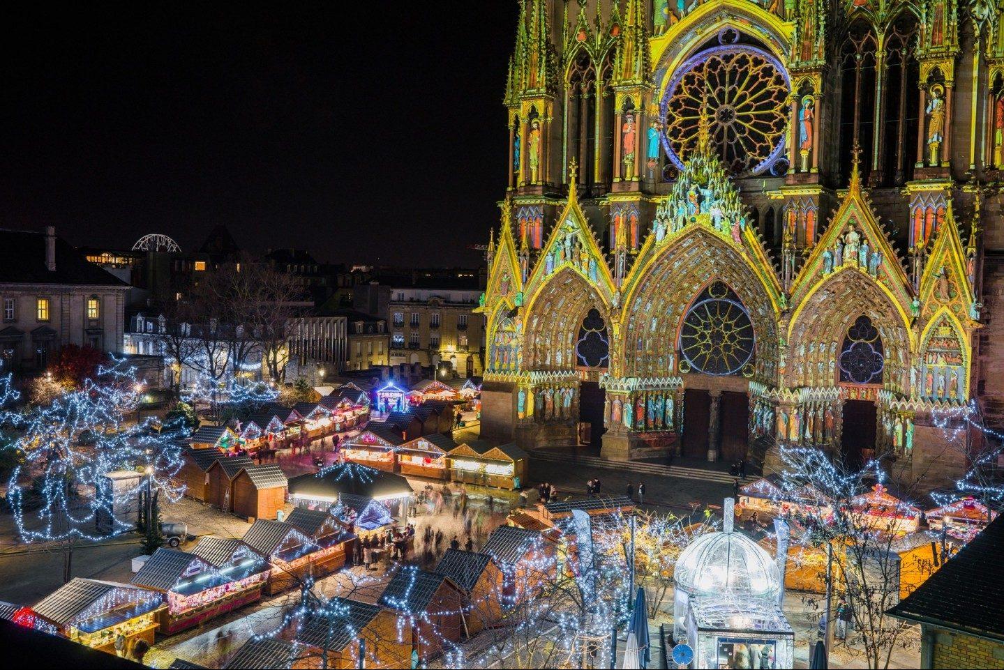 France, Reims Christmas Markets, Champagne, group travel, group tour, holidays © Ville de Reims - Cyril Beudot