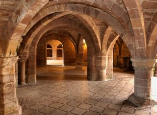 Norton Priory Undercroft