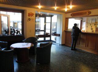 Hotel Bären in Oberharmersbach - reception