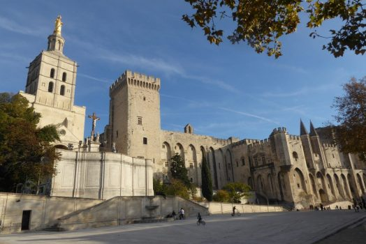 France, Provence, Avignon, Palais des Papes, Group travel, group tour, NCN