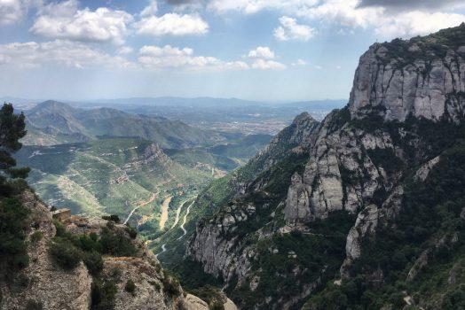 Panorama from Montserrat, Catalonia