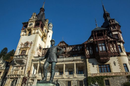 Romania, Transylvania, Sinaia, Peles Castle Group Travel, Dracula, Literary tour NCN