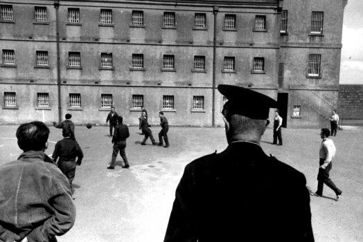 Peterhead Prison Museum, Aberdeen, Scotland - Yard - Football