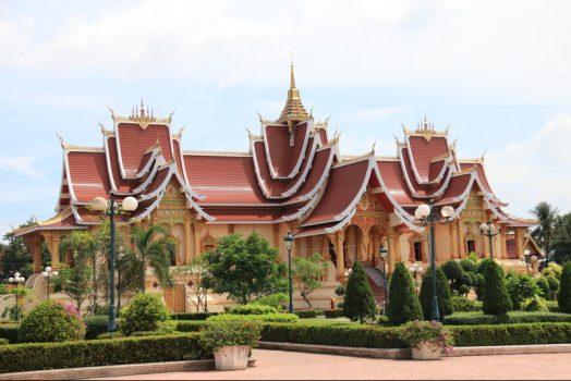 Laos, Southeast Asia, Vientiane, Pha That Luang © Easia Travel EXPIRES 10.10.2020