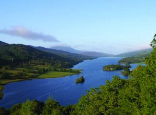 Queens View Pitlochry, Scotland © Photo Courtesy of Davy Nelson group tour to Scotland