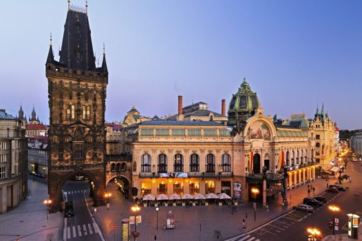 Prague Municipal House and Powder Tower ©©CCCR-CzechTourism. Pavel Hroch
