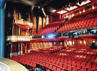 Inside the Prince of Wales theatre